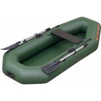 Надувная лодка Колибри К-230 зеленая, без настила