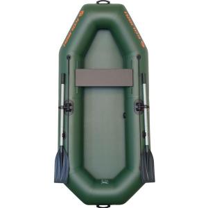Надувная лодка Колибри К-230 одноместная, светло-серая
