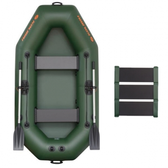 Надувная лодка Колибри К-240 без регистрации, слань-коврик