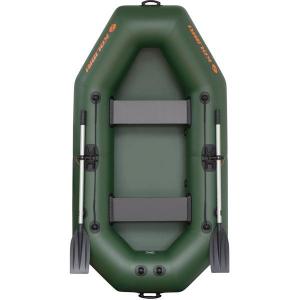 Надувная лодка Колибри К-240 двухместная, без настила