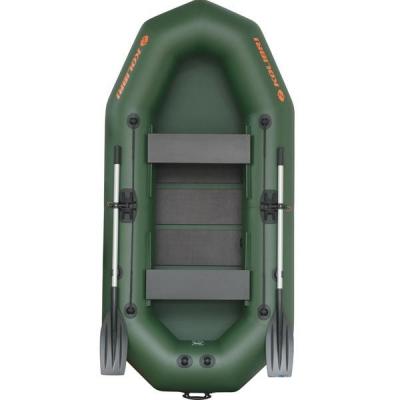Лодка двухместная надувная ПВХ Колибри К-250TX , рыбацкая надувная лодка, 2 х местная лодка пвх для рыбалки