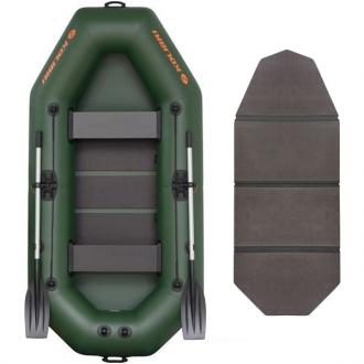 Надувная лодка Колибри К-280T двухместная, слань-книжка