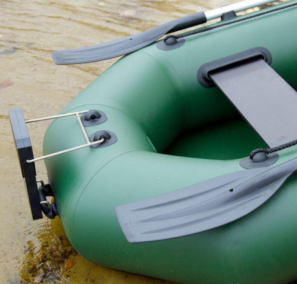 Надувная лодка Колибри К-280СT двухместная, слань-коврик
