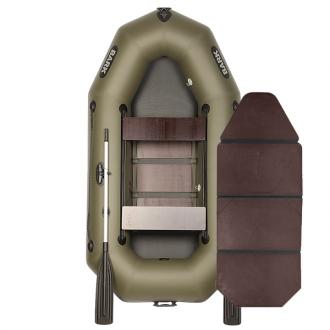 Резиновая лодка Барк В-250D со слань-книжкой и передвижными сиденьями. Без регистрации!