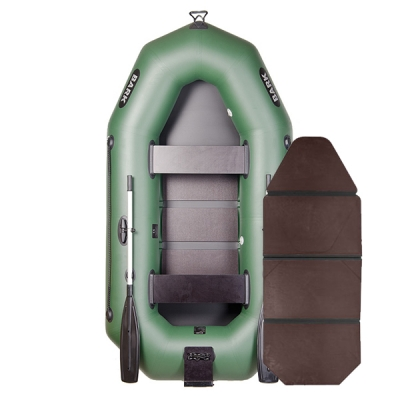 Надувная лодка Барк B-250N со слань-книжкой и навесным транцем