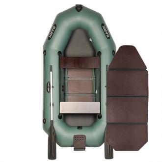 Лодка Bark В-250ND со слань-книжкой, передвижными сиденьями и навесным транцем