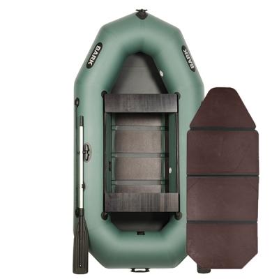 Двухместные лодки Bark В-270D со слань-книжкой и передвижными сиденьями