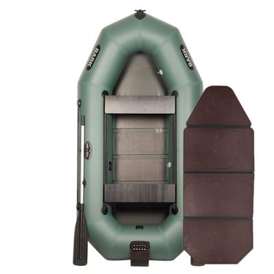Лодка Bark В-270ND со слань-книжкой, передвижными сиденьями и навесным транцем