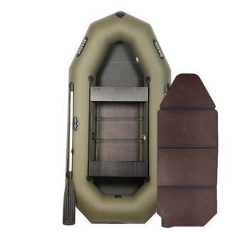 Надувные лодки пвх Bark B-280D книжка, трехместная лодка пвх, лодки резиновые Барк, лодка ПВХ 280