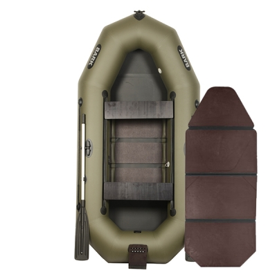 Лодка Bark B-280ND со слань-книжкой, передвижными сиденьями и навесным транцем