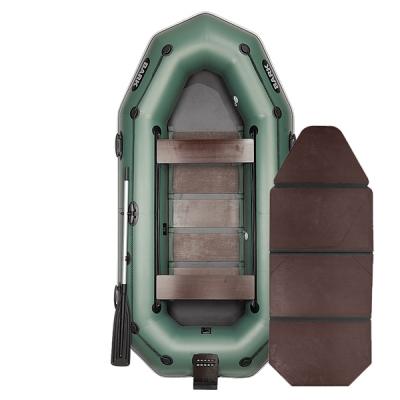 Резиновая лодка Bark B-300NPD со слань-книжкой, передвижными сиденьями, навесным транцем и привальным брусом