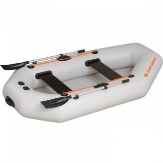 Надувная лодка Колибри К-280СT светло-серая, слань-коврик
