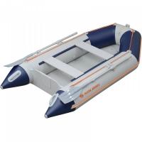 Надувная лодка Колибри КМ-330D синяя, настил из алюминия