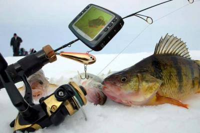 Видеоудочки, удочка с видеокамерой для зимней рыбалки, подводные камеры для рыбалки Ranger UF 2303