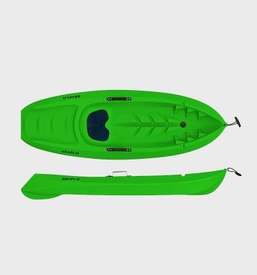Детский каяк SeaFlo SF-1005 пластиковый HDPE зеленый