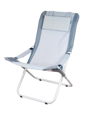 Шезлонг складной Ranger Comfort 2 Grey (серый цвет)