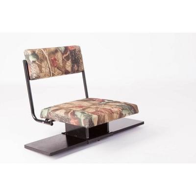 Кресло поворотное в надувную лодку, с откидной спинкой