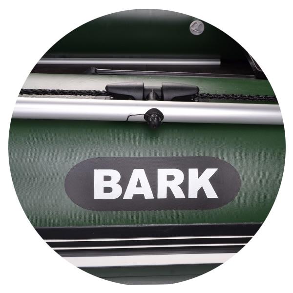 Резиновая лодка Bark B-300NPD передвижные сидения реечный настил навесной транец привальный брус