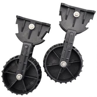 Транцевые колеса Колибри, черные