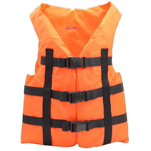Жилет страховочный в лодку СКИФ 50-70 кг дубок